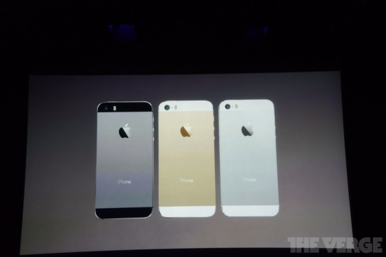 iphone 5s announced