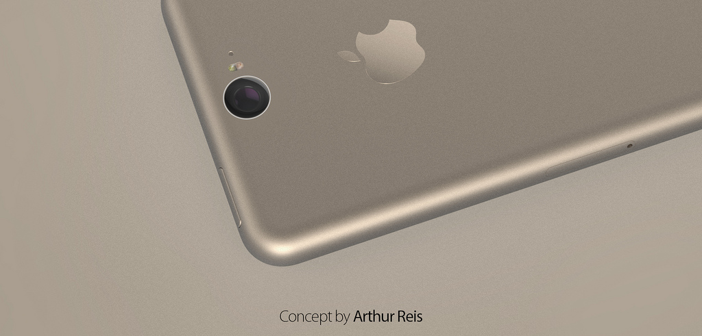 iPhone 6 Concept Features an iPad Air like Design [Video ...