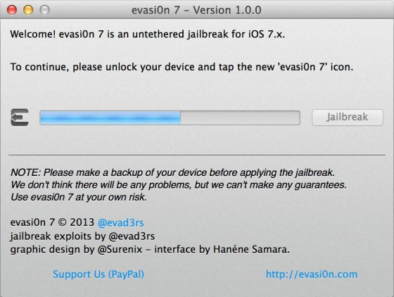 jailbreak iphone 7.0.4 evasi0n 7