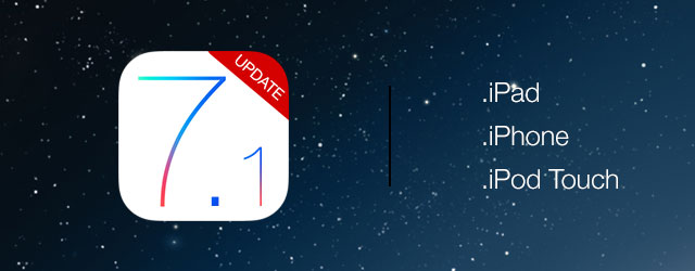 install iOS 7.1 update