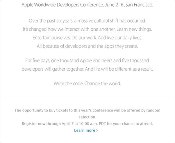 WWDC 2014 note
