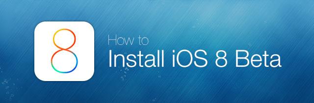 install ios 8 beta