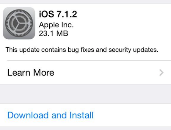 Download iOS 7 1 2 IPSW For iPhone, iPad, iPod Touch - iPhoneHeat