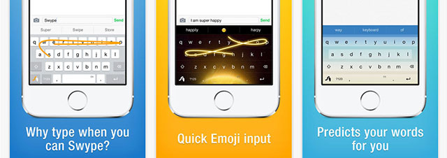 swype ios features