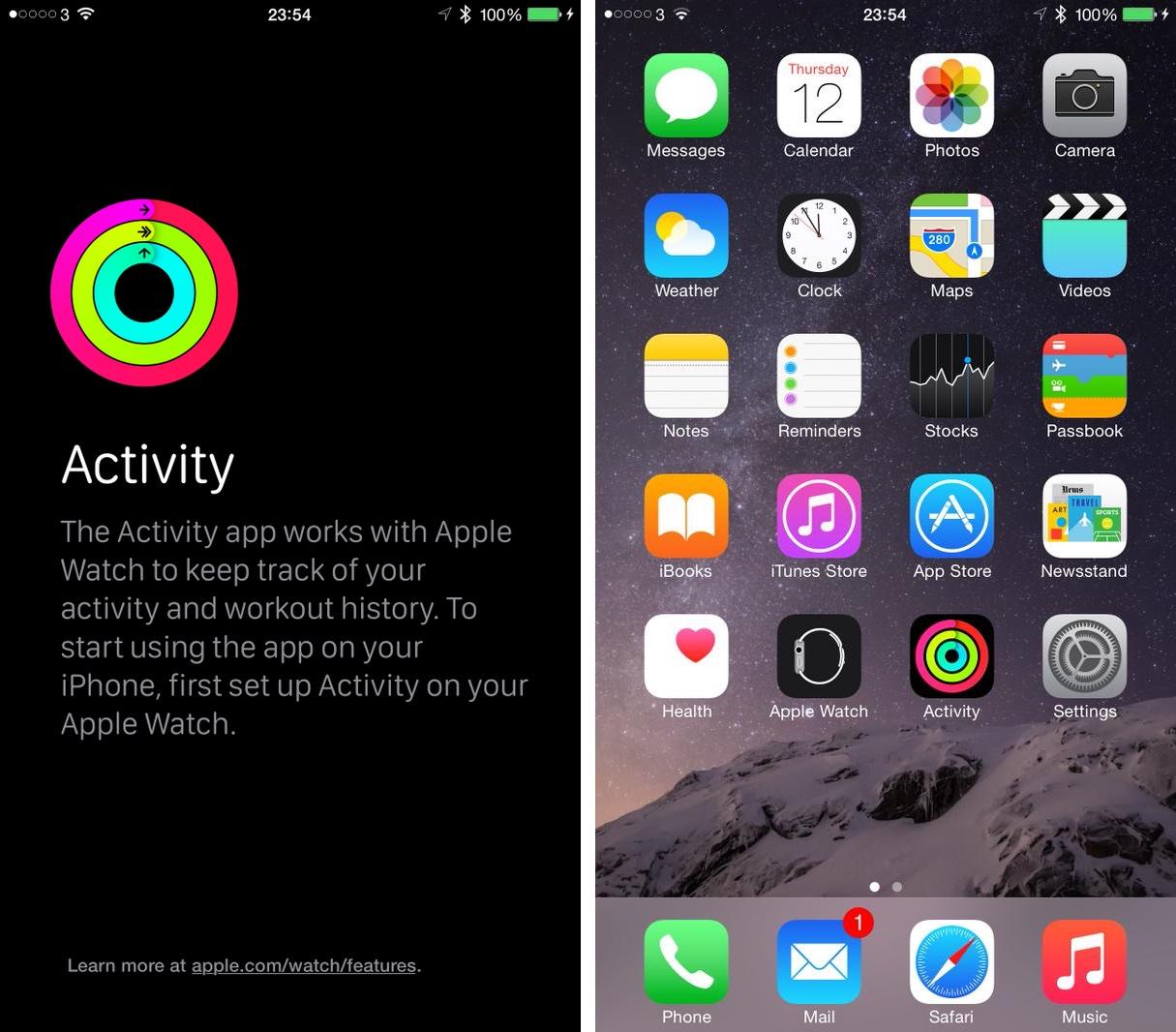 Hidden Activity app found in iOS 8.2 [Screenshots ...