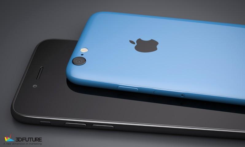 iPhone 6c concept 3D