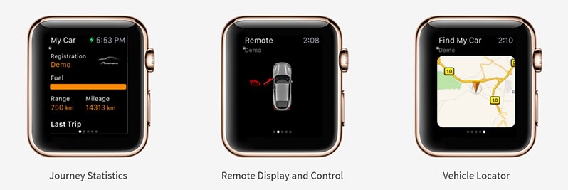 porsche Apple Watch