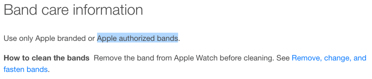 3rd party bands apple watch