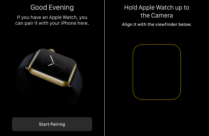 setup apple watch