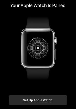 set up apple watch