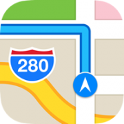 apple maps logo ios 7