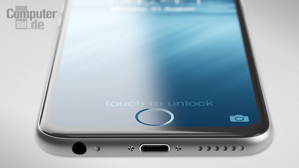 iPhone 7 Unterseite