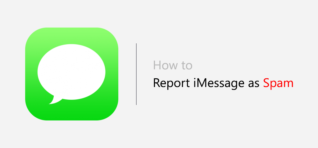 report imessage as spam