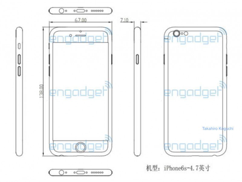 iPhone 6s schematic