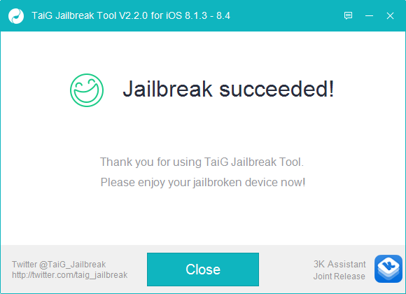 jailbreak ipod touch 5g 8.4 taig
