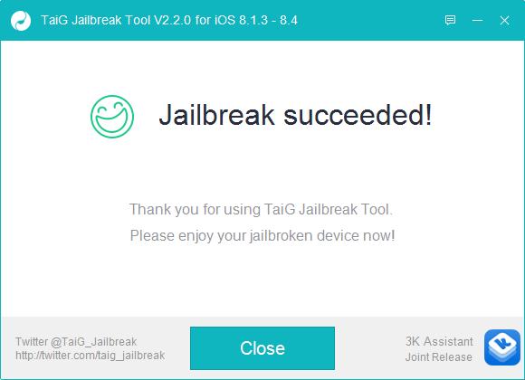 taig 8.4 jailbreak 3