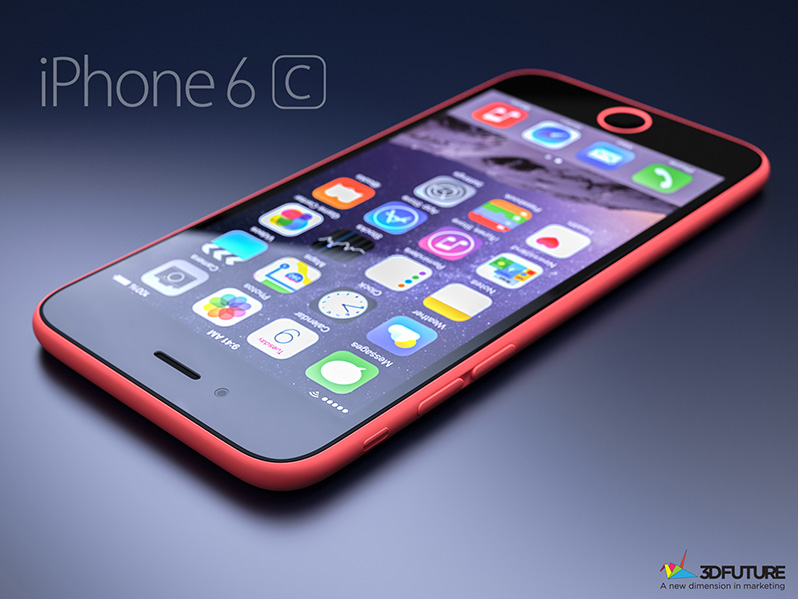 iPhone 6c concept 3D Future-006