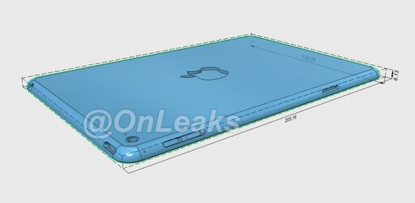 ipad mini 4 cad