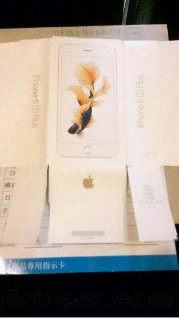 iphone6s plus packaging leak