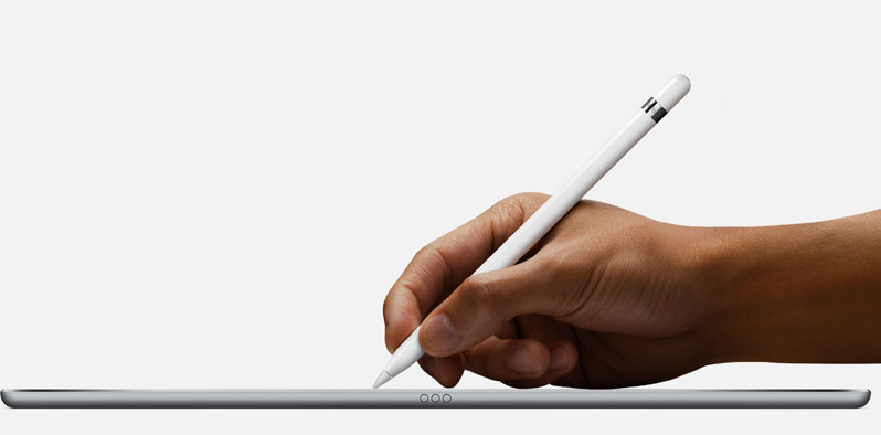 apple pencil hand