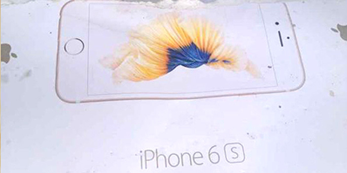 iPhone 6s box Motion leak