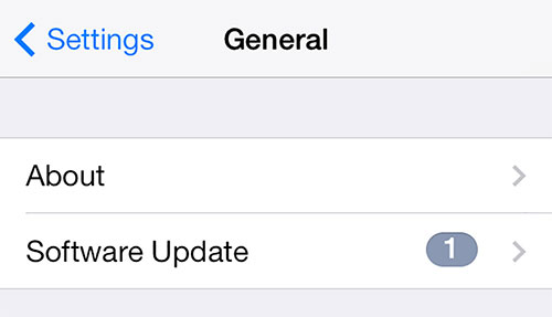 ios 9 software update