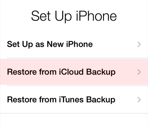 how to completely reset iphone iphone new iphone restore from icloud 1240