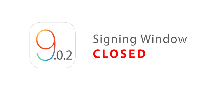 ios 9.0.2 signing closed