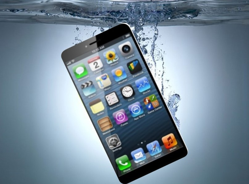 Waterproof iphone 7 concept