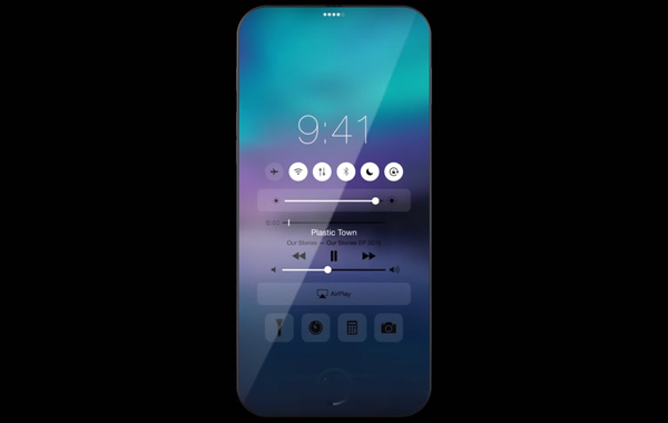 iPhone 7 full screen concept