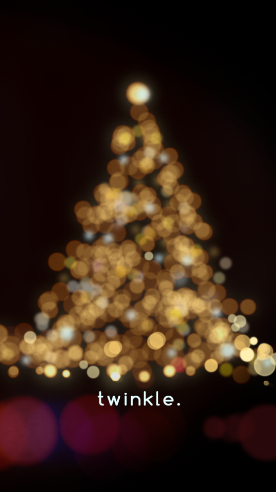 christmas lights iphone 6s wallpaper