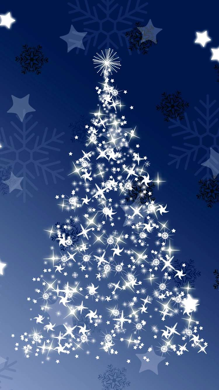 Christmas Snow Iphone 6 Wallpaper Download