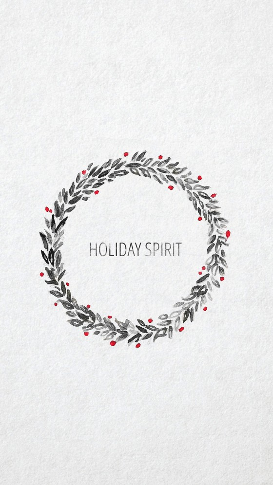 holiday christmas iphone 6s wallpaper