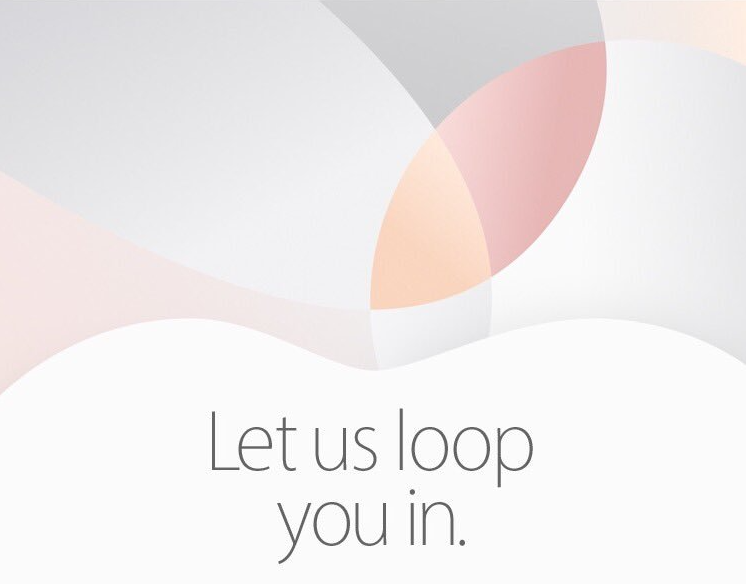 Apple March 21 16 event