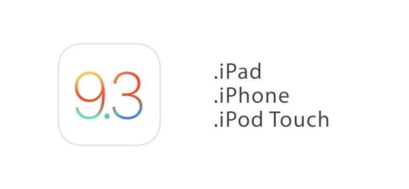ios 9.3 download