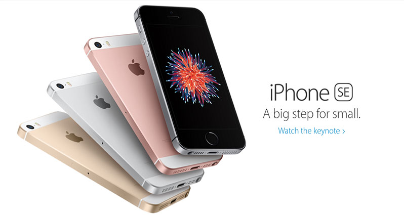 iphone se banner