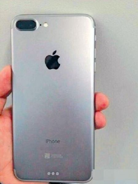 iPhone 7 Plus live leak photo