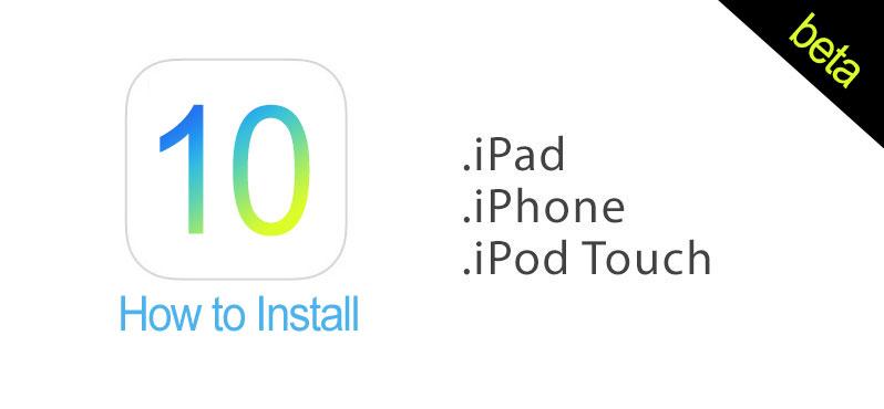 install ios 10 beta