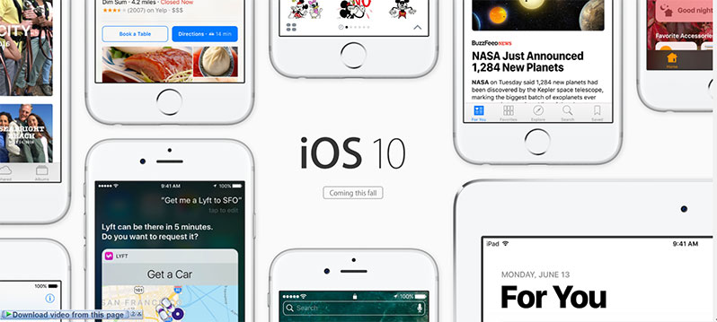 download ios 10.0.3