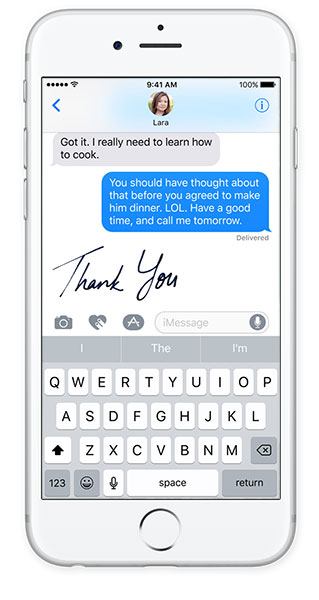 ios 10 features messages