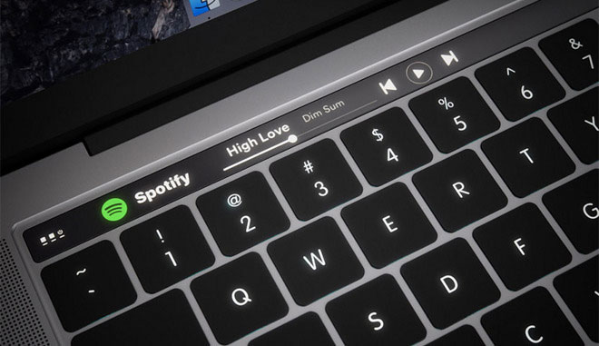 touchbar macbook
