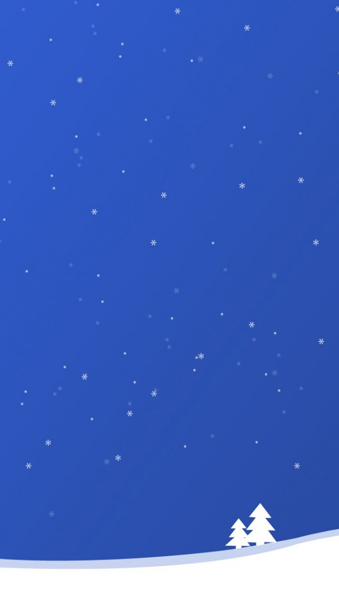 Blue Christmas iphone7 plus Wallpapers