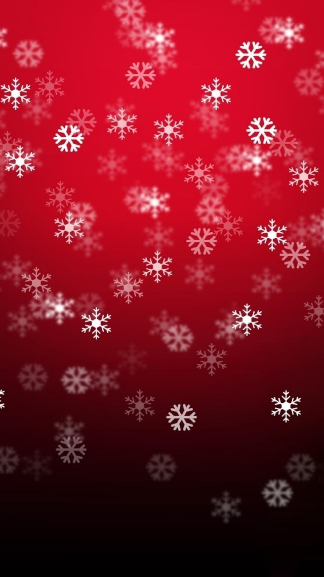 IPhone 7 Red Flakes Wallpaper Download