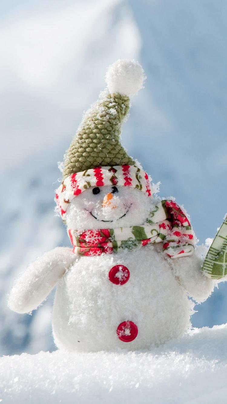 snowman wallpaper iphone 7