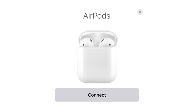 pair airpods iphone