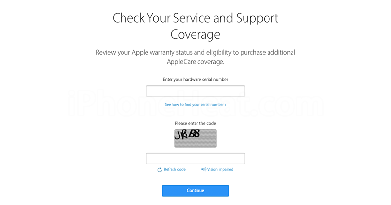 apple iphone warranty check how to check apple care warranty status of your iphone 5720