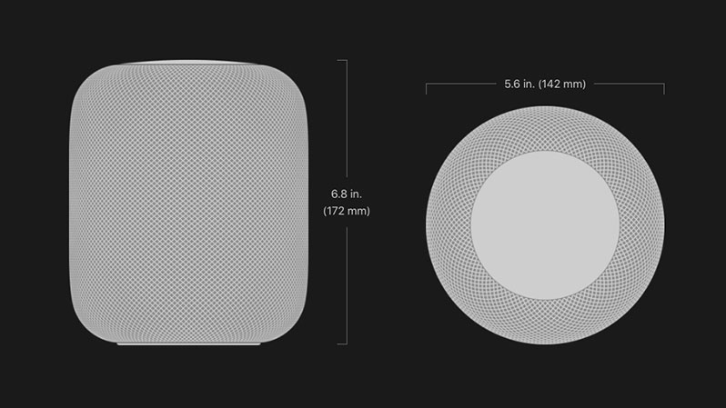 homepod size