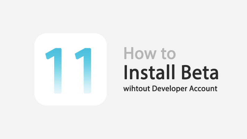 install ios 11 without developer account
