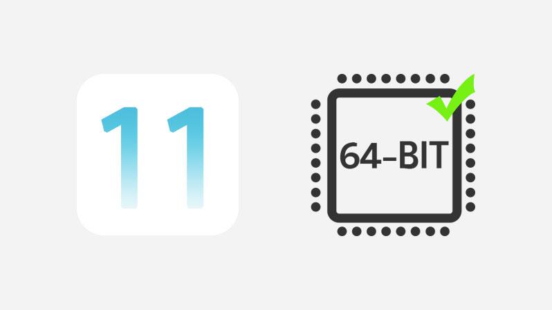 ios 11 64bit