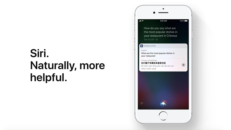 ios 11 features siri
